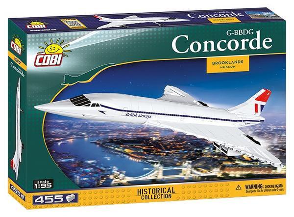 Cobi 1917 Concorde Bausteine 455
