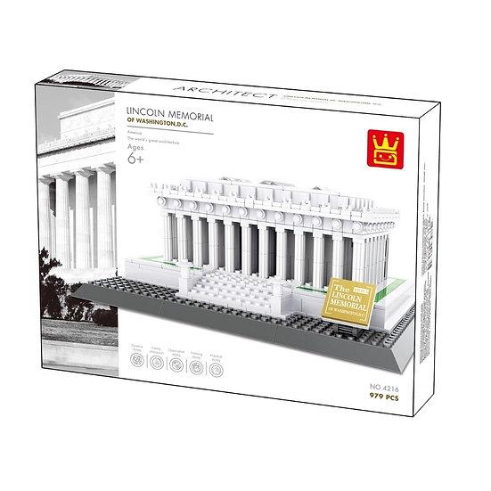 Wange 4216 Lincoln Memorial 979 Bausteine