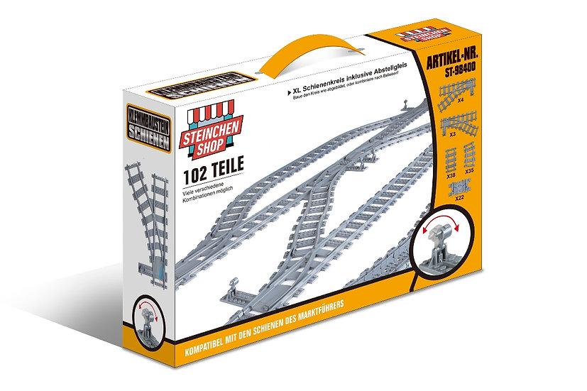ST 98400 Schienenkreis XL 102 Teile
