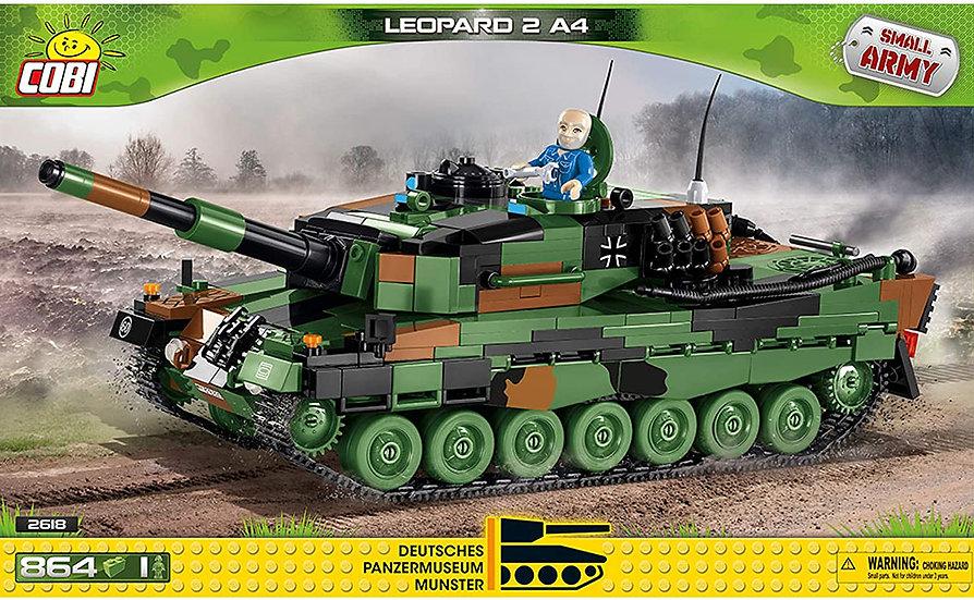 Cobi 2618 Leopard  2 A4 864 Bausteine