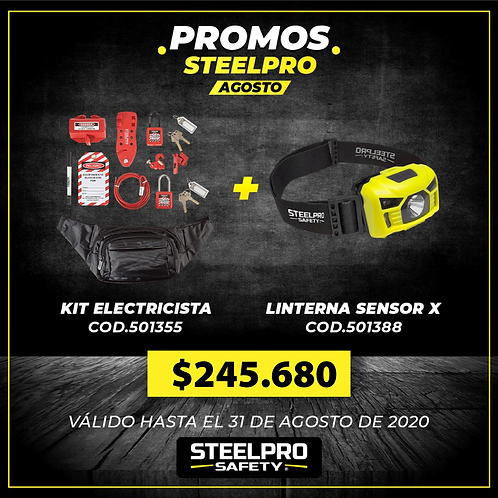 KIT LOCK OUT ELECTRICISTA