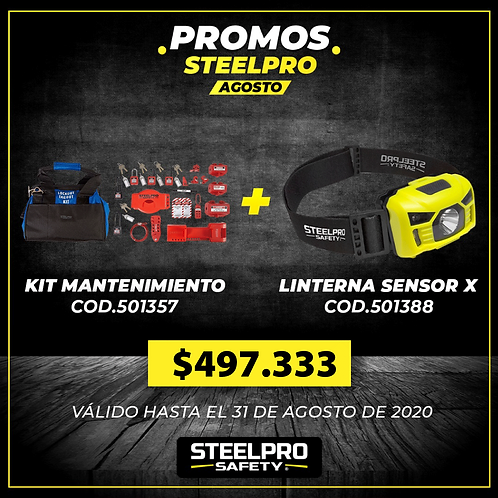 KIT LOCK OUT MANTENIMIENTO