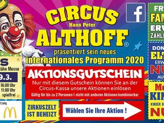 [ABGESAGT] Circus Althoff 20.03. - 29.03.2020