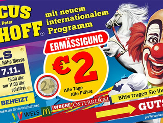 Circus Althoff 30.10. - 07.11.2020