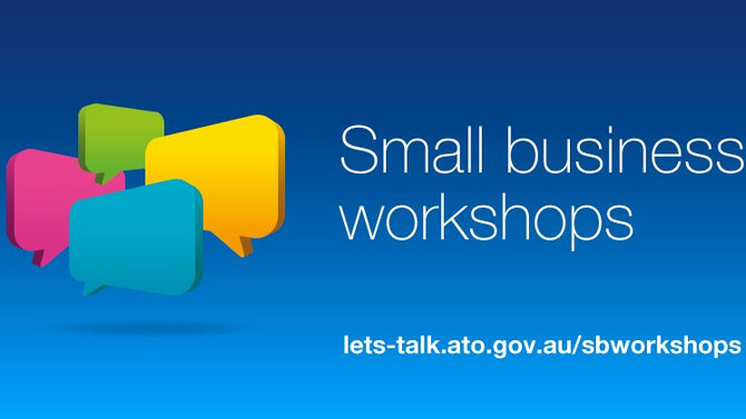 The ATO offer free small business workshops and events