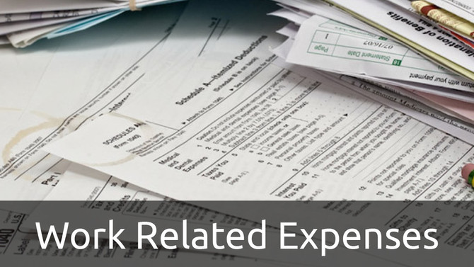 Get your Work-Related Expenses RIGHT