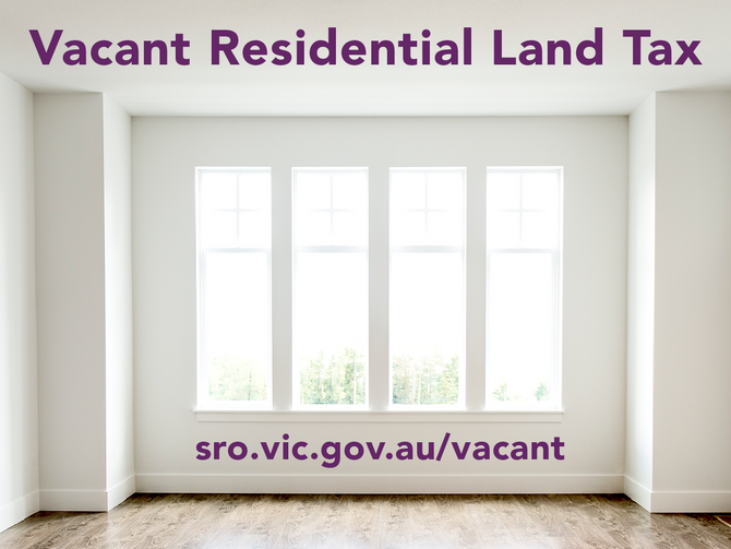 New Legislation - Vacant Residential Property