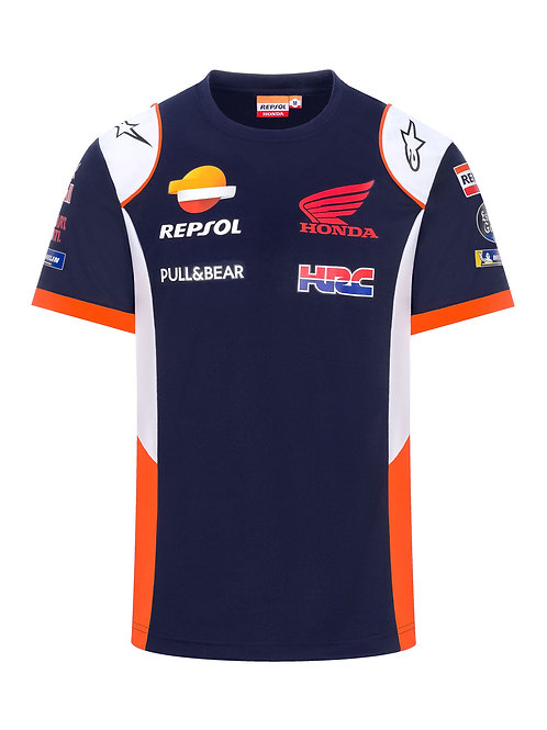 TEE-SHIRT REPSOL BLUE TEAMWEAR