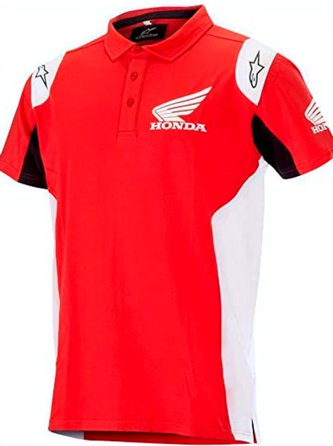 POLO ALPINESTARS HONDA RED