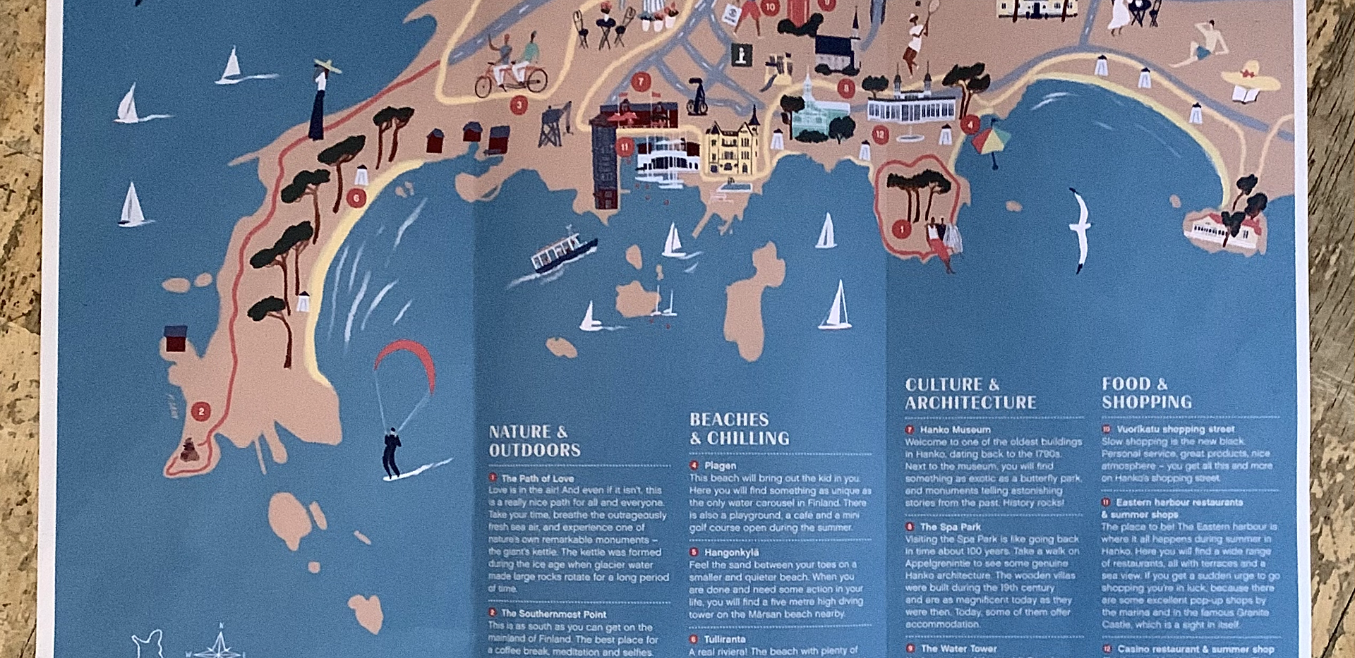 Map of Hanko