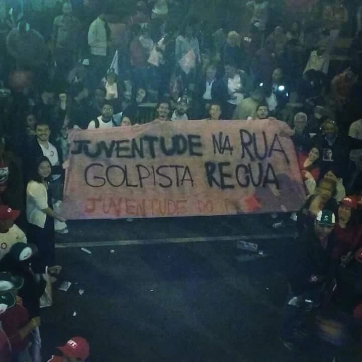 Manifestação em São Paulo