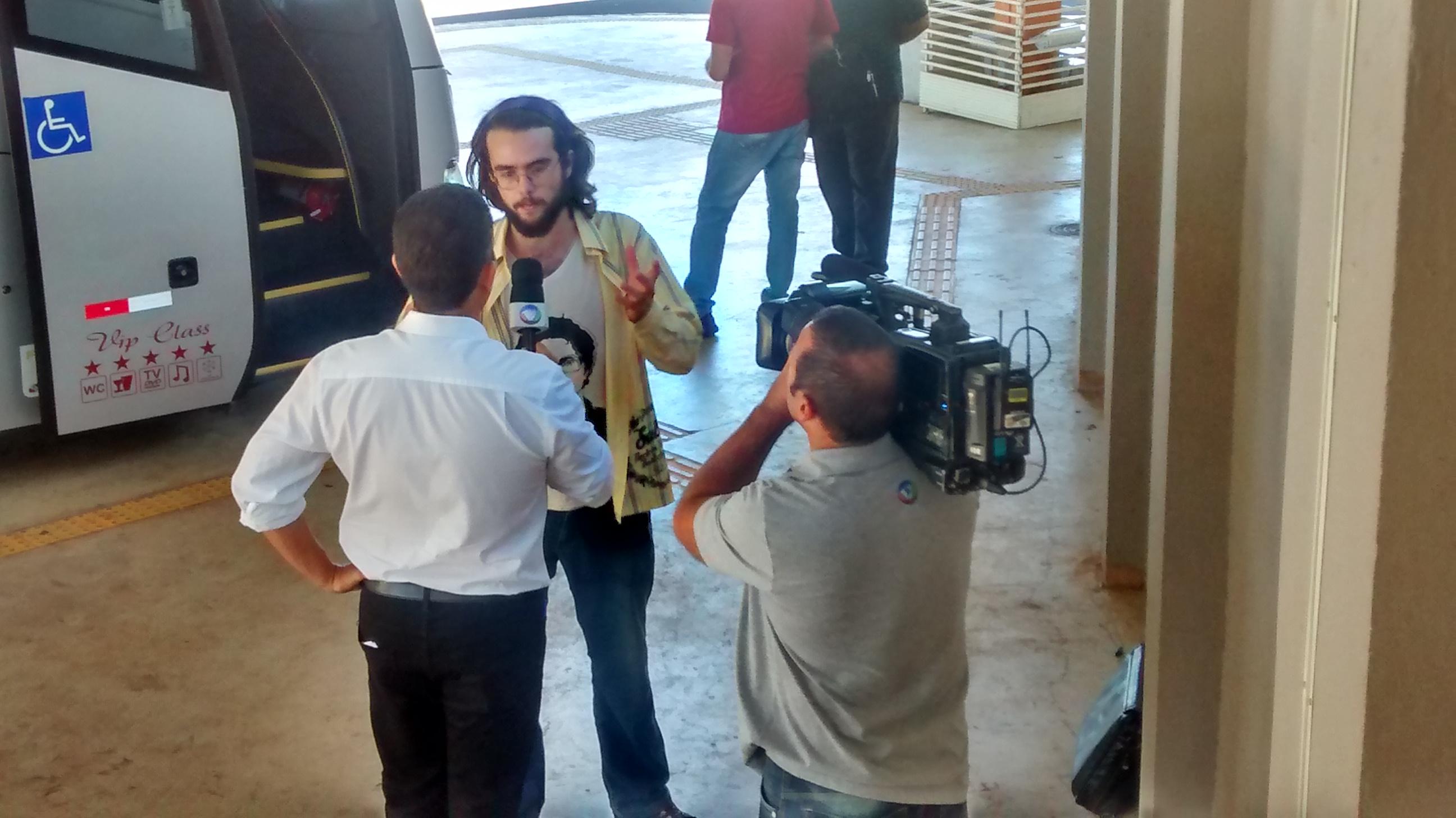 Entrevista para a Record