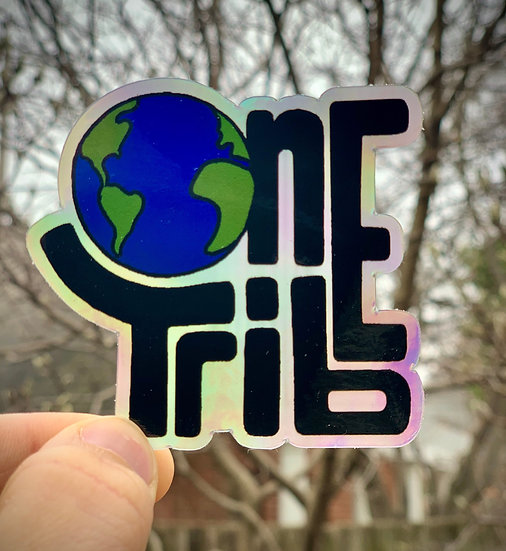 One Tribe Sticker
