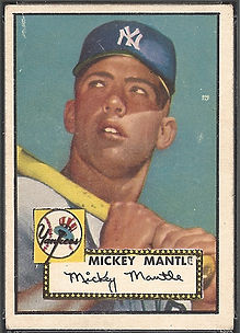 1952 Topps Mickey Mantle VG-EX 4