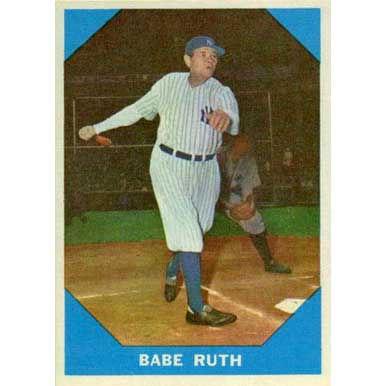 Babe Ruth   - 1960 Fleer