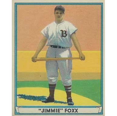 Jimmie Foxx   - 1941 Play Ball