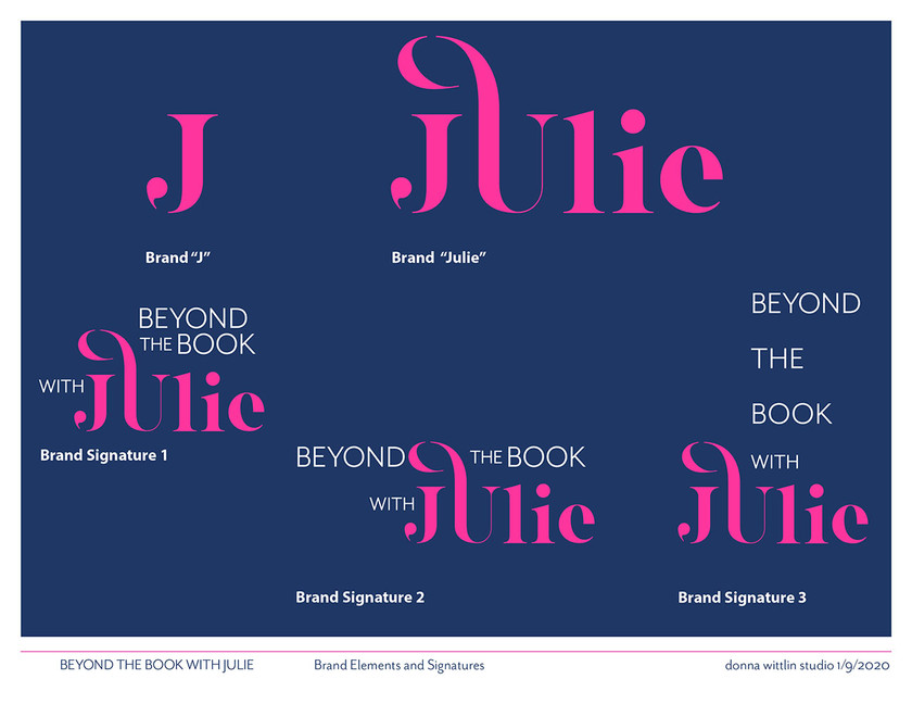 Beyond the Book with Julie - Stlye Guide