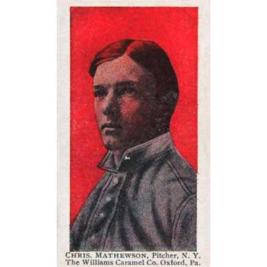 Christy Mathewson - 1910 Caramel E90-3