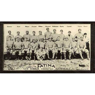 New York Nationals  - 1913 Tobacco T-200