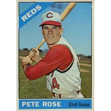 Pete Rose  - 1966 Topps