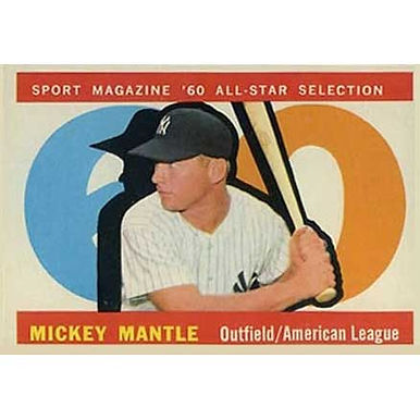Mickey Mantle  - 1960 Topps