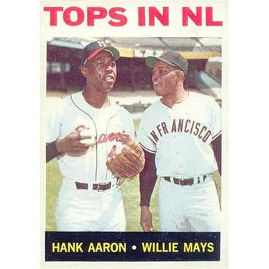 Tops in NL  - 1964 Topps