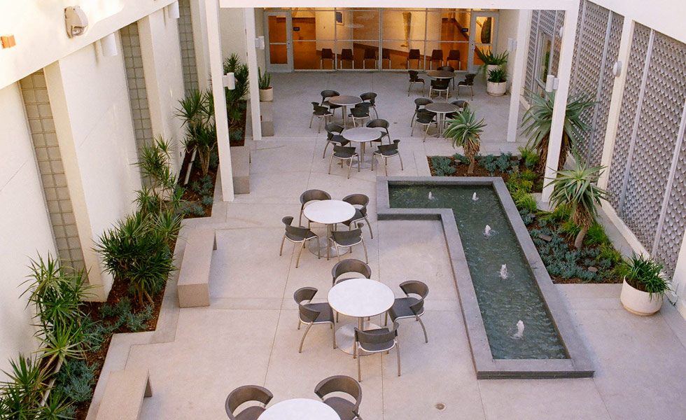 Valley College Arts Courtyard