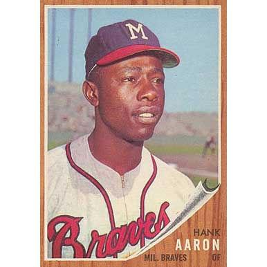 Hank Aaron  - 1962 Topps
