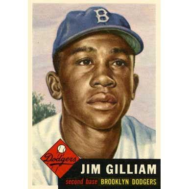 Jim Gilliam   - 1953 Topps