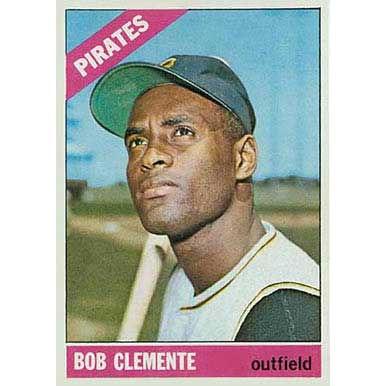 Bob Clemente  - 1966 Topps