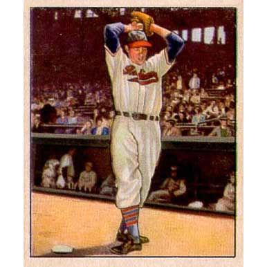 Bob Feller 1950 Bowman