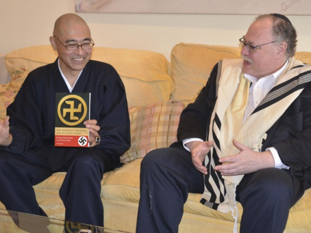 Japanese Buddhist T.K. Nakagaki sets out to educate West on swastika of good fortune