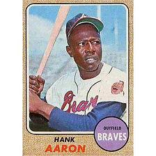 Hank Aaron - 1968 Topps