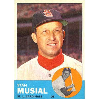 Stan Musial  - 1963 Topps