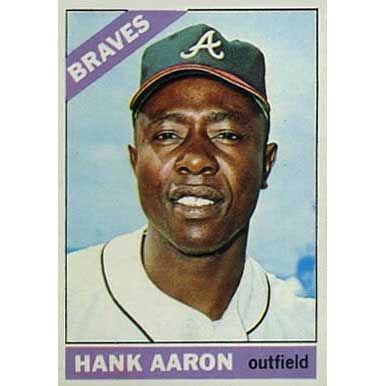 Hank Aaron  - 1966 Topps