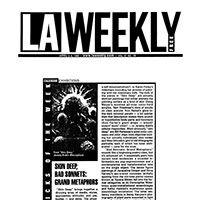 LA WEEKLY: SKIN DEEP, BAD SONNETS: GRAND METAPHORS