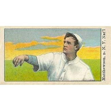 Christy Mathewson -  1910 Caramel E105
