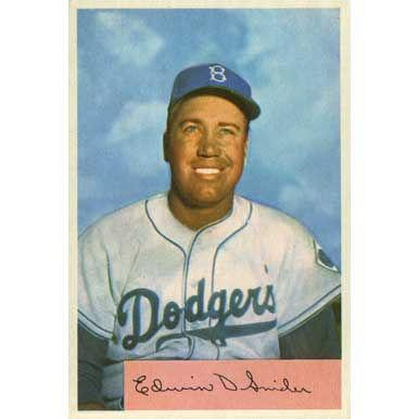 Duke Snider    - 1954 Bowman