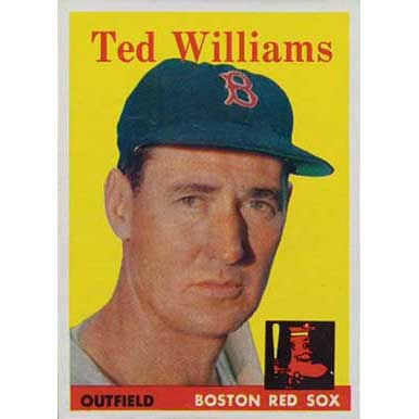 Ted Williams   - 1958 Topps