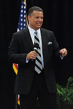 Photo of Jeff Joiner Speaking on Stage