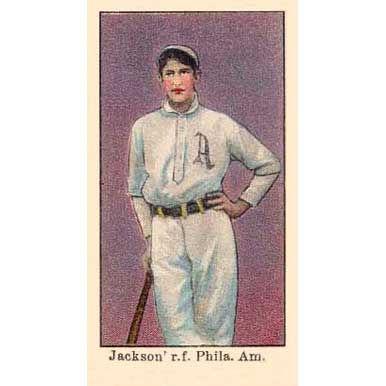 Joe Jackson - 1909 Caramel E90-1