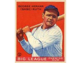 """George Herman """"Babe"""" Ruth"""