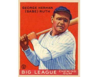 Babe Ruth    - 1933 Goudey