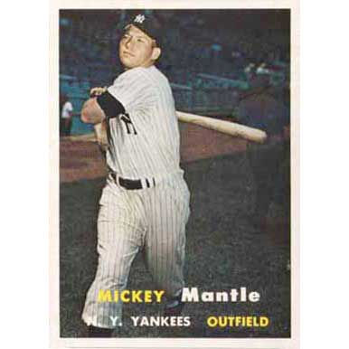 Mickey Mantle  - 1957 Topps