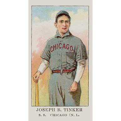 Joe Tinker - 1908 Caramel E91