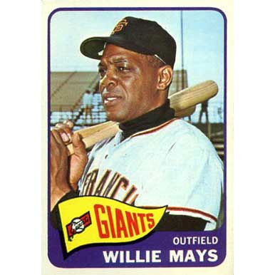 Willie Mays  - 1965 Topps