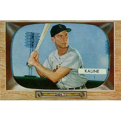 Al Kaline   - 1955 Bowman