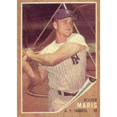 Roger Maris  - 1962 Topps