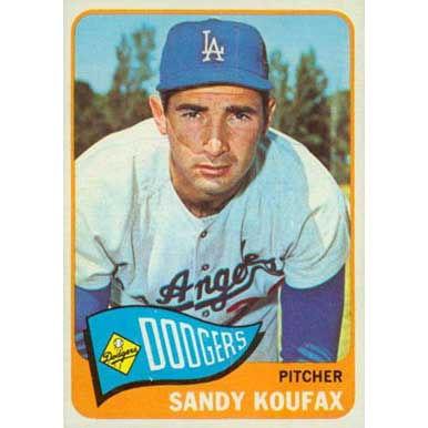 Sandy Koufax  - 1965 Topps