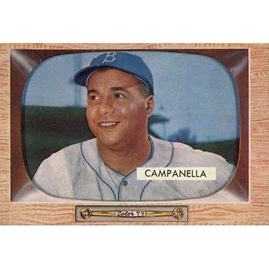 Roy Campanella   - 1955 Bowman